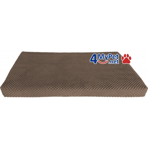 Additional Fabric Cover for mattress. Brown color.