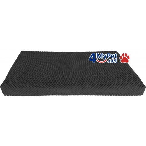 Additional Fabric Cover for mattress. Black color.