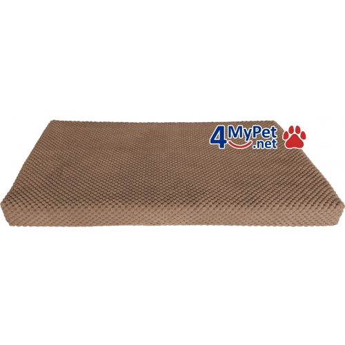 Additional Fabric Cover for mattress. Chocolate color.