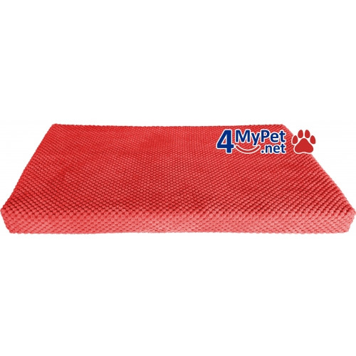Additional Fabric Cover for mattress. Red color.