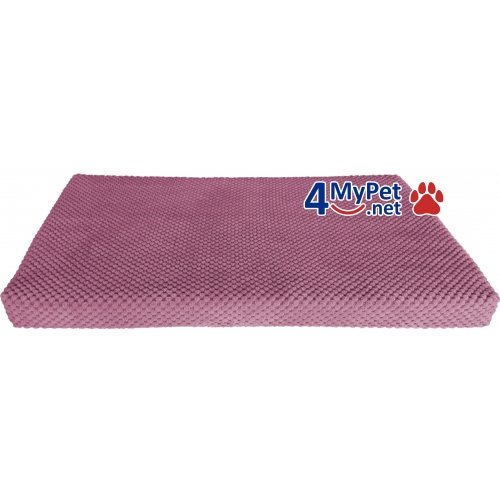 Additional Fabric Cover for mattress. Violet color.
