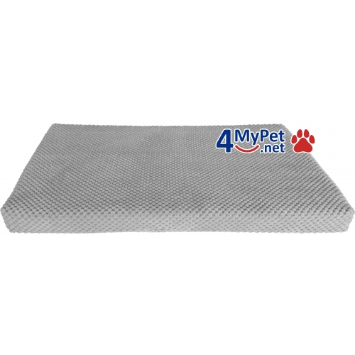 Additional Fabric Cover for mattress. Gray (light) color.